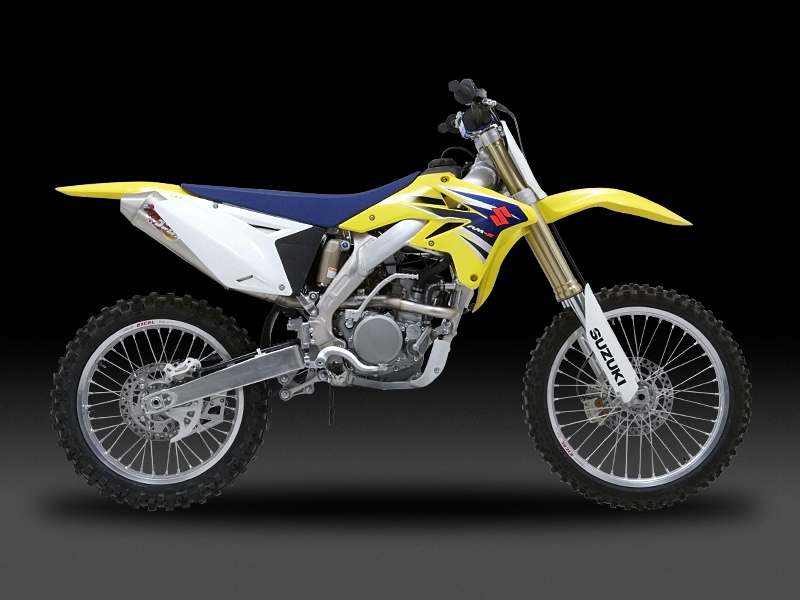 SUZUKI RM-Z250(07)OVAL CONE RACING EXHAUST SYSTEM FOR MOTOCROSS