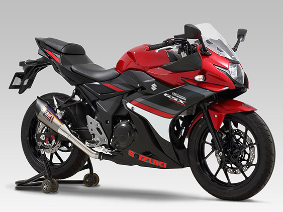 SUZUKI GSX250R(17)SLIP-ON R-11 SINGLE EXIT : JMCA APPROVED