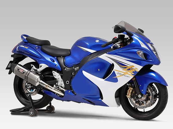SUZUKI GSX1300R HAYABUSA(08-)SLIP-ON HEPTA FORCE / STREET SPORTS