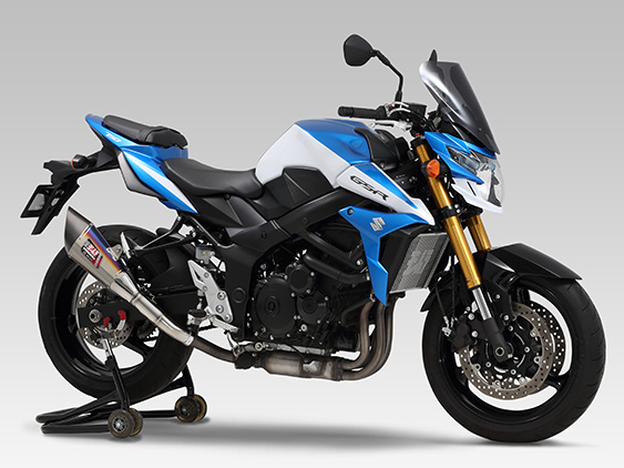 SUZUKI GSR750(11-)SLIP-ON R-11 SINGLE EXIT : JMCA APPROVED