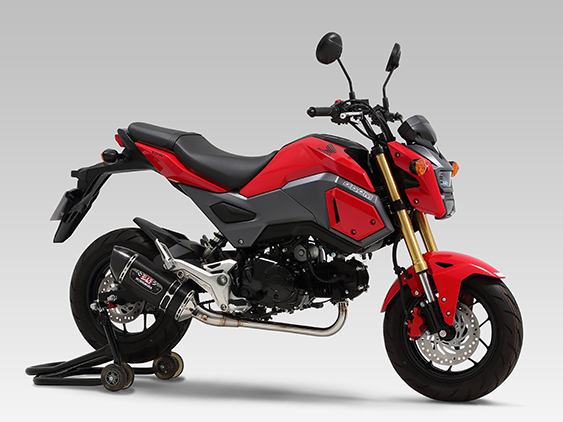 HONDA GROM/MSX125(13-15)FULL SYSTEM R-77S DOWN TYPE / STREET SPORTS