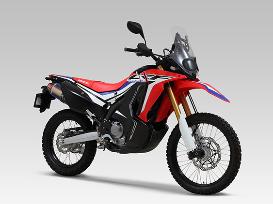 HONDA CRF250 RALLY(17)SLIP-ON RS-4J CARBON END : JMCA APPROVED