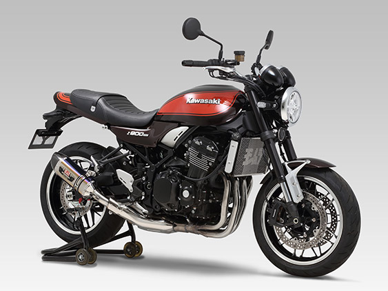 KAWASAKI Z900RS(18-20)Slip-On R-77Sサイクロン EXPORT SPEC 政府認証