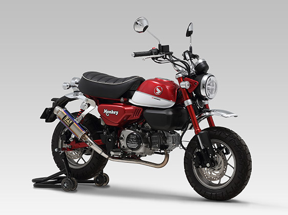 HONDA Monkey125(18)FULL SYSTEM GP-MAGNUM TYPE-DOWN  / JMCA APPROVED