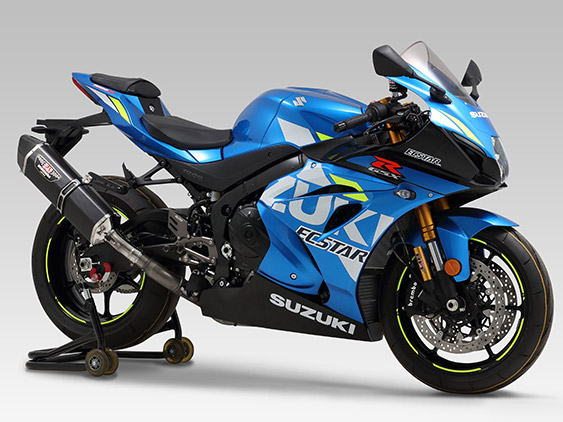 SUZUKI GSX-R1000(17-19)SLIP-ON HEPTA FORCE / EURO4