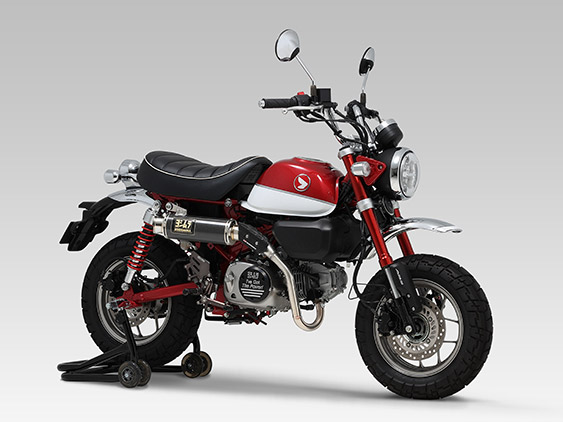 HONDA Monkey125(18-19)FULL SYSTEM GP-MAGNUM TYPE-UP / JMCA APPROVED
