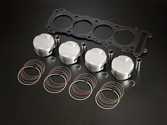 SUZUKI GSX1300R HAYABUSA(-07)81mm HIGH COMP PISTON KIT