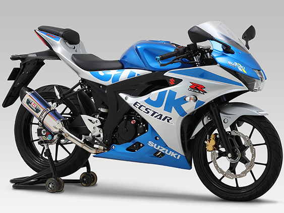 SUZUKI GSX-R125(18-20:ABS)FULL SYSTEM R-77S / JMCA APPROVED