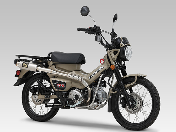 HONDA CT125(20)FULL SYSTEM GP-MAGNUM TYPE-UP / JMCA APPROVED
