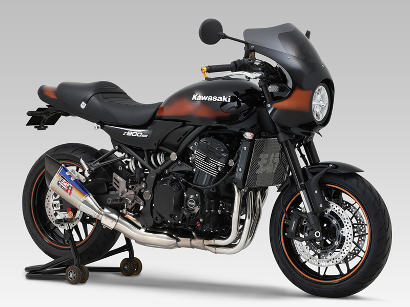 KAWASAKI Z900RS CAFE(18-21)Slip-On R-11 サイクロン 1エンド EXPORT SPEC 政府認証