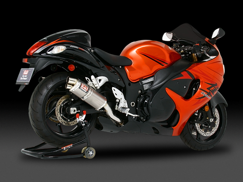 SUZUKI GSX1300R HAYABUSA(08-11)SLIP-ON TRI-OVAL / STREET SPORTS