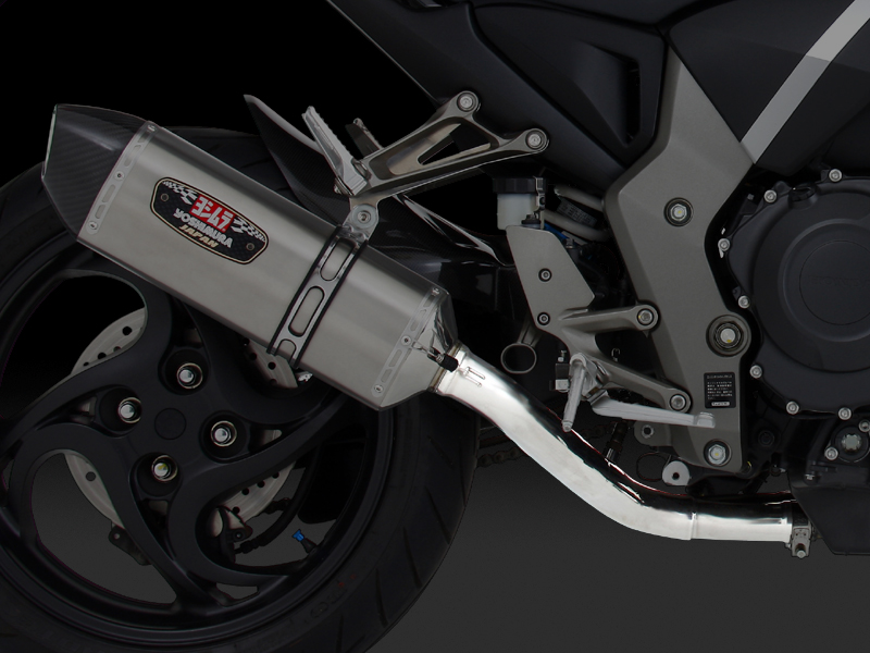 HONDA CB1000R(09-11)RACING MID PIPE for R-77J