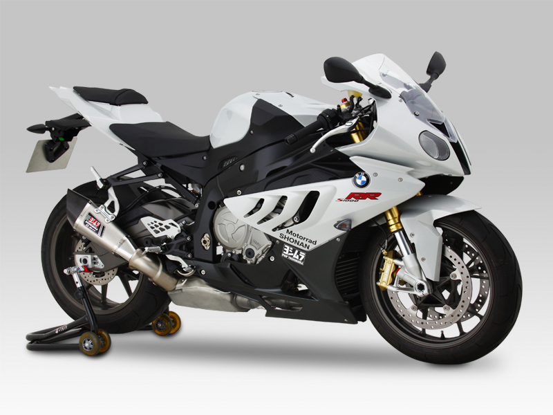 BMW S1000RR(10-14)SLIP-ON R-11 DUAL EXIT / EURO3