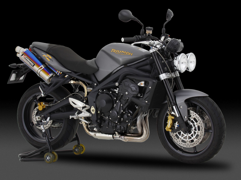TRIUMPH STREET TRIPLE(08- )SLIP-ON TRI-OVAL / EURO3