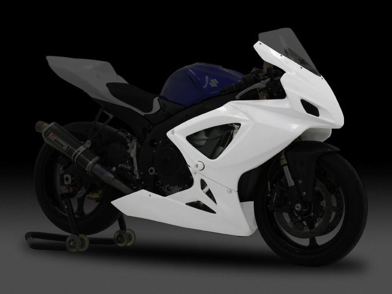 SUZUKI GSX-R600(06-07)FULL FAIRING